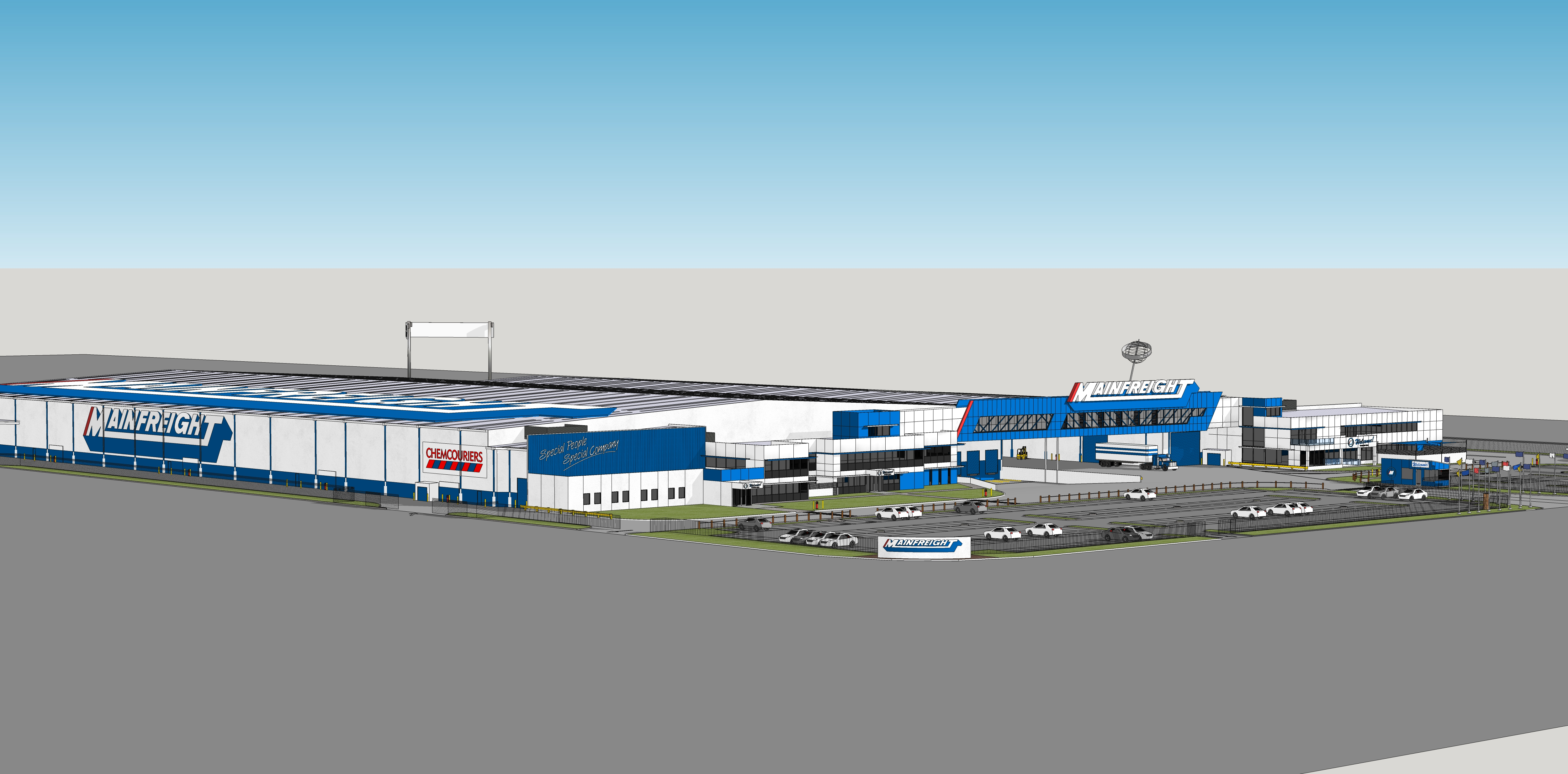 Artist Impression - Mainfreight Epping