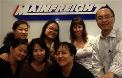Mainfreight Thailand team